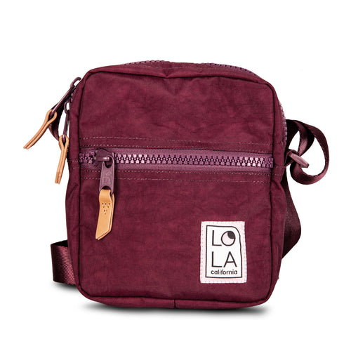 Mondo Starlight Crossbody: Wine