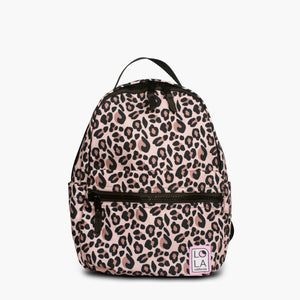Jane Starchild Medium Backpack: Leopard