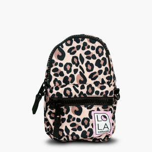 Jane Stargazer Mini Convertible Backpack: Leopard