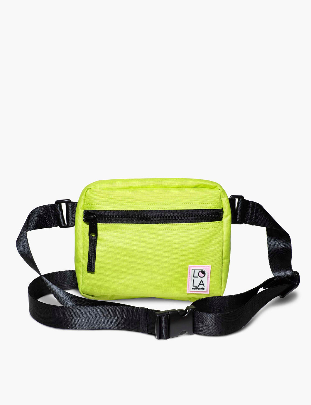 Sprite Recycled Nylon Hippie Fanny Pack: Gooseberry