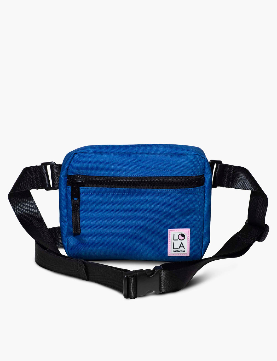 Sprite Recycled Nylon Hippie Fanny Pack: Sapphire