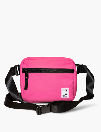 Sprite Recycled Nylon Hippie Fanny Pack: Tulip