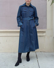 Load image into Gallery viewer, 1970s Denim Trench
