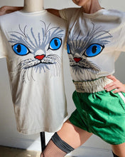 Load image into Gallery viewer, My Eyes Are Up Here! Kitty Tee