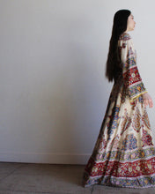Load image into Gallery viewer, 1960s Indian Cotton Caftan Dress