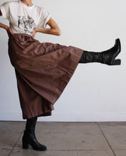 Load image into Gallery viewer, 1980s Polished Cotton Gaucho Pants