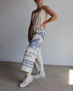 Fancy Oats Muslin Jumpsuit