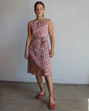Load image into Gallery viewer, Feedsack Polkadot Wrap Dress