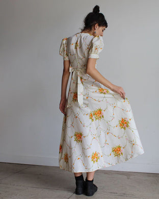 1970s does 1940s Easter Sunday Dress