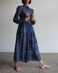 1915 Sheer Cotton Voile Inigo Dress