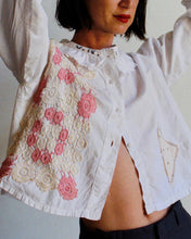 Load image into Gallery viewer, The Antique Pierrot Crochet Blouse