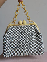 Load image into Gallery viewer, 1940s Whiting & Davis Mesh Bakelite Celluloid Purse