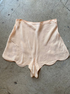 1930s Peach Silk Tap Pants