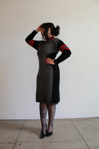 1980s Sweater Dress