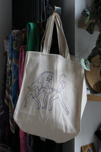 Load image into Gallery viewer, 3 Women Logo Tote Bag