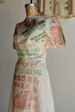 Load image into Gallery viewer, Golden Poppy Rice Sack Dress