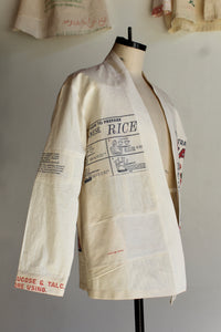 How to Japanese Rice Long Sleeve Jacket