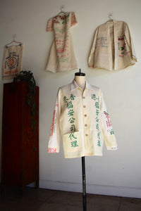 Fukusuke Good Fortune Rice Sack Work Shirt