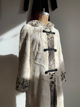 Load image into Gallery viewer, 1960s Faux Rabbit Fur Coat