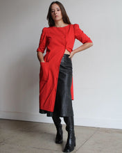 Load image into Gallery viewer, 1980s Red Bill Blass Dress