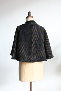 Late 1800s Polka Dot Cape