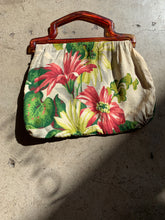 Load image into Gallery viewer, 1960s Floral Handbag