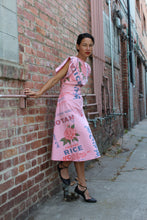 Load image into Gallery viewer, Preorder Pink Notan Rice Sack Dress