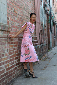 Preorder Pink Notan Rice Sack Dress