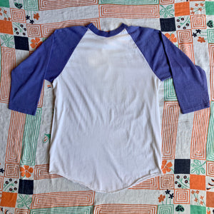 Botan Rice Vintage Purple Baseball Tee - L