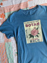Load image into Gallery viewer, Botan Rice Blue Vintage Tee - S