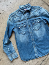 Load image into Gallery viewer, 1990s Denim Western Shirt