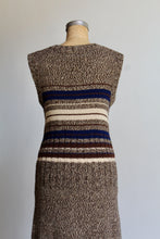 Load image into Gallery viewer, 1990s Brown Knit Maxi Sweater Dress