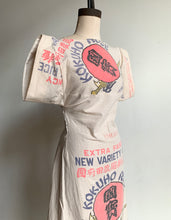Load image into Gallery viewer, Kokuho Rose Rice Sack Dress