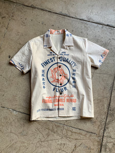 5 Tigers Rice & Flour Sack Button-up