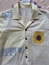 Load image into Gallery viewer, Sunflower and the Crane Button-Up