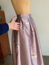 Load image into Gallery viewer, Rochas Silk Ballerina Print Maxi Skirt