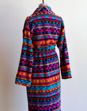 Load image into Gallery viewer, 1980s Colorful Robe with Belt