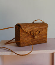 Load image into Gallery viewer, 1990s Woven Box Purse