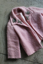 Load image into Gallery viewer, 1950s Bubblegum Pink Mohair Jacket