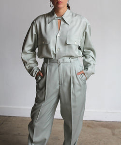 1990s Ralph Lauren Silk Set