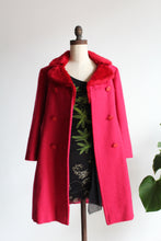 Load image into Gallery viewer, 1960s Hot Pink Mohair Coat