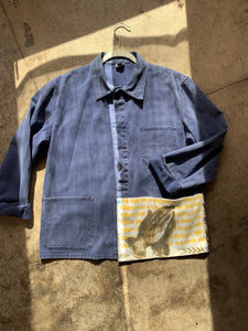 Pray On Patchwork Chore Jacket