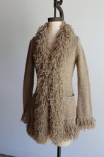 Load image into Gallery viewer, 1990s Nubby Tan Yarn Cardigan