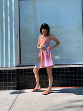 Load image into Gallery viewer, 1980s Madras Plaid Pastel Summer Playsuit