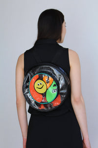 1990s PVC Happy Face Backpack