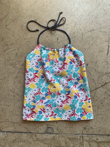 Feed Sack Reversible Halter Tops