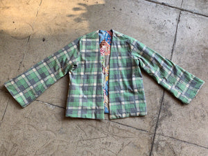Reversible Patchwork Quilt Jacket