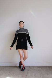 1990s Liz Claiborne Knit Turtleneck Sweater