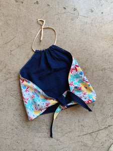 Custom Reversible Feed Sack Halter