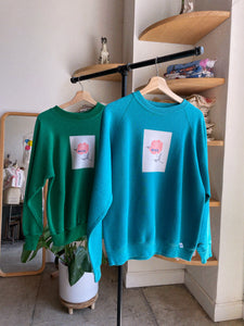 Primary Rose Vintage Sweatshirts